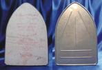 Planchas hechas con fibra de asbesto